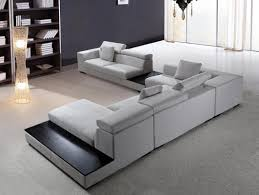 Contemporary White Leather Sectional Sofa by Furniture Home Decoration Couches Sectional Sofa With Tosh