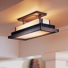 Flush Lighting Fixtures Alluring Fluorescent Island Lighting Awesome Flush Mount Kitchen