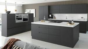 cuisiniste clamart meuble cuisine et plan de travail clamart equipee gris anthracite