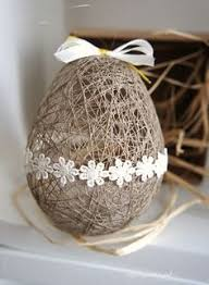 Diy Easter Decorations String Eggs by Wonderful Diy Easter String Egg Basket String Balloons Easter