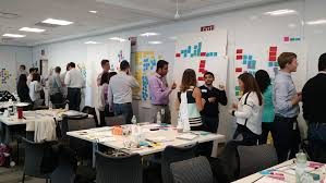 design thinking workshop surrounding signifiers