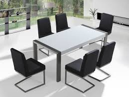 dining room table and 6 chairs dining set stainless steel table and 6 chairs arctic i