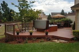 Wood Patio Deck Designs Wood Deck Ideas Garden Design
