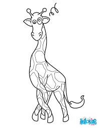 giraffe coloring pages printable desert coloring pages printable wild desert animals birds