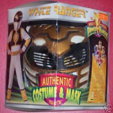 White Ranger Halloween Costume Henshin Grid Power Rangers Halloween Costumes