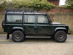 mail jeep conversion land rover defender bowler 110 xs station wagon bowler fast road