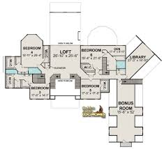 Second Story Floor Plans by Golden Eagle Log Homes Floor Plan Details Log Mansion 12865al