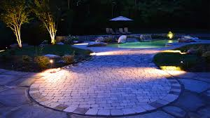 Landscape Deck Patio Designer All Lit Up Landscape Lighting In Knoxville Tenn Carex Design