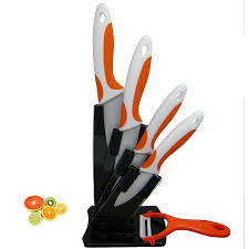 Ceramic Kitchen Knives Set by Compare Prices On Orange Knife Set Online Shopping Buy Low Price