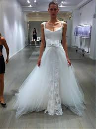 cheap tulle charming 2015 lace wedding dresses appliuque sheer tulle real