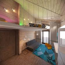 Creative Interior Design by 3 Creative Top Floor Rooms With Wood Accents
