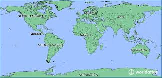 san jose costa rica on map where is costa rica where is costa rica located in the world