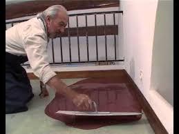 sol cuisine béton ciré réaliser un sol en béton ciré coulé tuto bricolage de robert pour