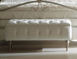 bedrooms upholstered bench padded storage bench tufted bench