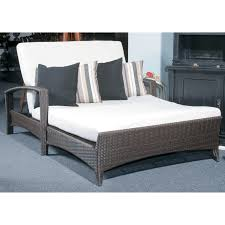 Double Chaise Sofa Lounge by Furniture White Fabric Double Chaise Lounge Sofa With Fold Up