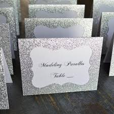 silver wedding table numbers online shop glitter gold silver wedding table numbers place card