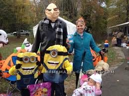 diy minion halloween costumes for kids