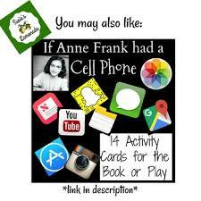 diary of anne frank by susie u0027s lemonade teachers pay teachers
