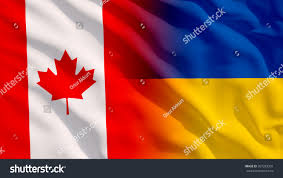 Ukraine Flag Waving Canada Ukraine Flag Stock Illustration 587353301 Shutterstock