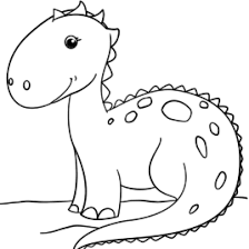 coloring page of dinosaur kids drawing and coloring pages marisa