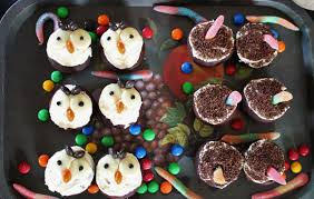 angry owl cupcakes and australian halloween u2013 baking with gab