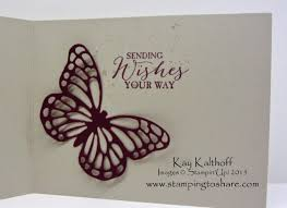 beautiful birthday card with butterfly basics bundle and how to