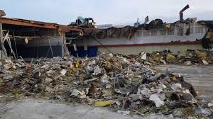 Movies Six Flags Mall Inside Rolling Acres Mall Demolition Dead Malls Last Look At