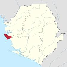 Map Of Sierra Leone Western Area Sierra Leone U2013 Wikipedia