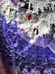 how to make a ruffled christmas tree skirt without sewing hgtv