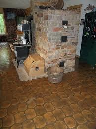 log floor cordwood flooring cordwood construction