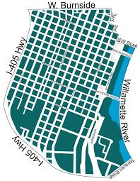 Map Of Downtown Portland by Portland Downtown U2013 Neighbors West Northwest