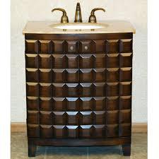 Bathroom Vanities 30 Inches Wide Silkroad Exclusive 30 Hyp 3301 T Single Sink Bathroom Vanity
