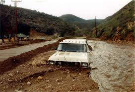 Old Ford Mud Truck - scvhistory com gt9805 el nino 1997 98 truck buried in mud on