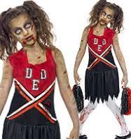 Zombie Cheerleader Zombie Cheerleader Costume Zombie Decorations Zombie Props