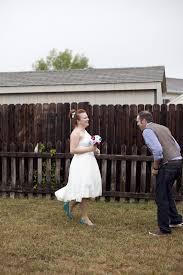 shannon u0026 billy u0027s casual red and blue backyard wedding weddbook