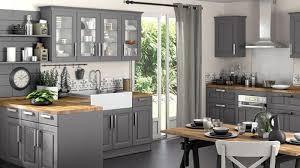 cuisines grises la cuisine s habille de gris cuisines grises lapeyre et bois brut