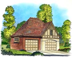 Tudor Style House Garage Plan 86051 At Familyhomeplans Com