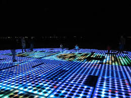 night time at greetings to the sun zadar croatia picture of