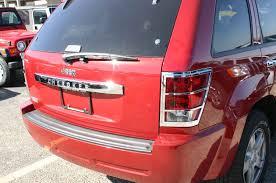 jeep chrome jeep grand cherokee chrome rear lift tail gate handle cover trim