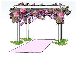 wedding arches building plans wedding arbor building plans bijaju54