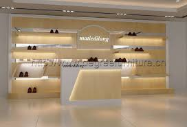 shop decoration interior design for shoes shop fashion new wood shoes shop