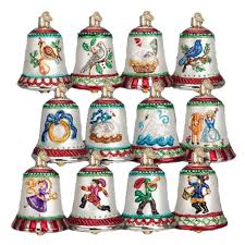 amazon com old world christmas twelve days of christmas bells