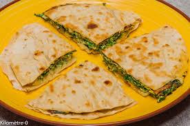 recette cuisine facile rapide pita à l omelette aux herbes kilometre 0 fr