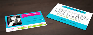 9 99 Business Cards Business Card Design For Nancy Hauschildt Life Coaching By
