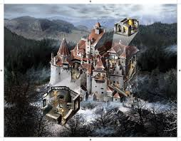 bran castle by jubran on deviantart