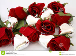 roses and hearts silver hearts with roses royalty free stock photos image 7992078