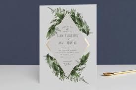 minted wedding invitations diamante foil pressed wedding invitations by bisch minted