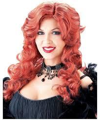 saloon womens halloween costume auburn saloon halloween wig saloon costumes