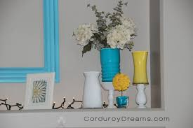 How To Paint A Vase How To Paint A Glass Vase Tutorial The Creative Mom