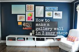 making a gallery wall in 3 easy steps sue at home